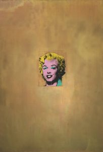 Andy Warhol. Gold Marilyn Monroe, 1962