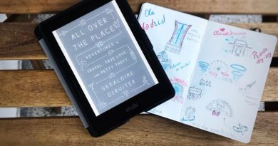 """All over the place: Adventures in travel, true love and petty theft"", Geraldine DeRuiter"